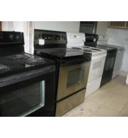 Used Coil Top Stoves Starting at $290  ///  Smooth Top Stoves Starting at $350